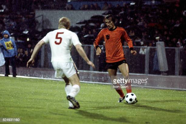 Rob Rensenbrink of Holland during the European Championship between Czechoslovakia and Holland in Stadium Maksimir Zagreb Yugoslavia on 16th June 1976