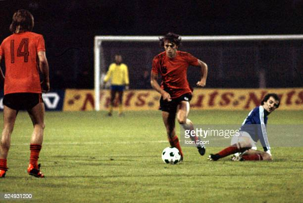 Rob Rensenbrink of Holland during the European Championship for the 3rd place between Holland and Yugoslavia in Stadium Maksimir Zagreb Yugoslavia on...