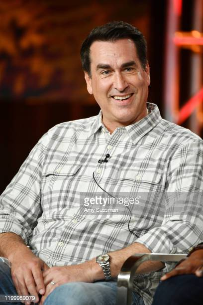 Rob Riggle of Rob Riggle Global Investigation speaks during the Discovery Channel segment of the 2020 Winter TCA Press Tour at at The Langham...