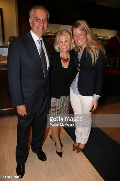 Rob Rosen Dale Atkins Rosen and Kendall Swenson attend The launch of 'True Prep' at Brooks Brothers on September 14 2010 in New York