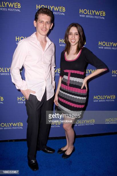 Rob Rush and Ashley Key attend the 2nd annual HollyWeb Festival at Avalon on April 7 2013 in Hollywood California