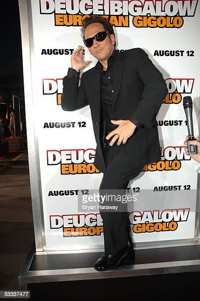 Rob Schneider on the red carpet before the premier of Deuce Bigalow European Gigolo at the Palms casino on August 6 2005 in Las Vegas Nevada Photo by...