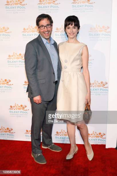 Rob Schow and Kendal Brenneman attend the Silent Pool Gin Launch Party at Tom Tom on September 18 2018 in West Hollywood California