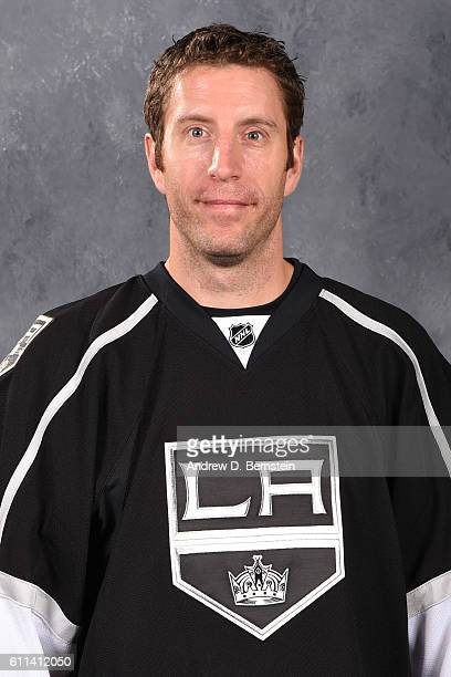 Rob Scuderi of the Los Angeles Kings poses for his official headshot for the 20162017 season on September 22 2016 at the Toyota Sports Center in El...