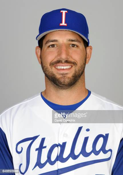 Rob Segedin of Team Italy poses for a headshot for Pool D of the 2017 World Baseball Classic on Monday March 6 2017 at Hohokam Stadium in Mesa Arizona