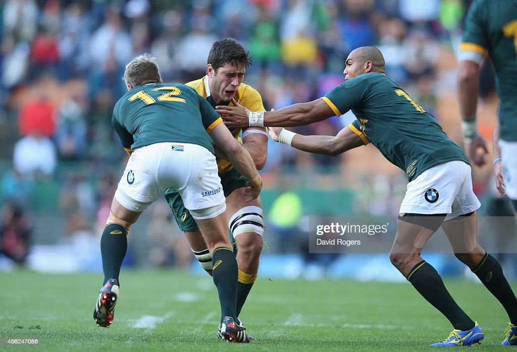 South Africa v Australia - The Rugby Championship : News Photo