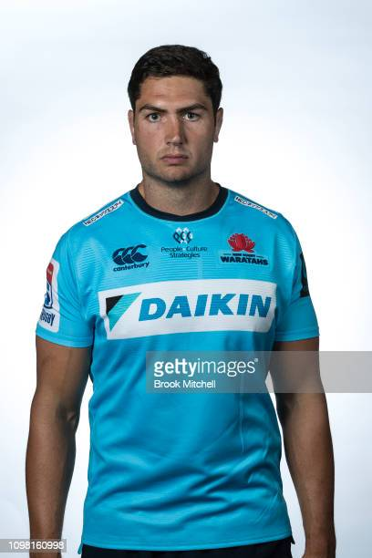 Rob Simmons poses during the 2019 Waratahs Super Rugby headshots session on January 23 2019 in Sydney Australia