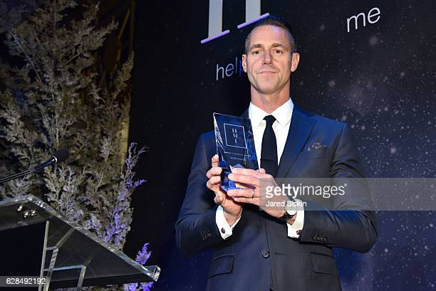 Rob Smith appears onstage at the HetrickMartin Institute's 30th Annual Emery Awards Help Me Imagine at Cipriani Wall Street on December 7 2016 in New...