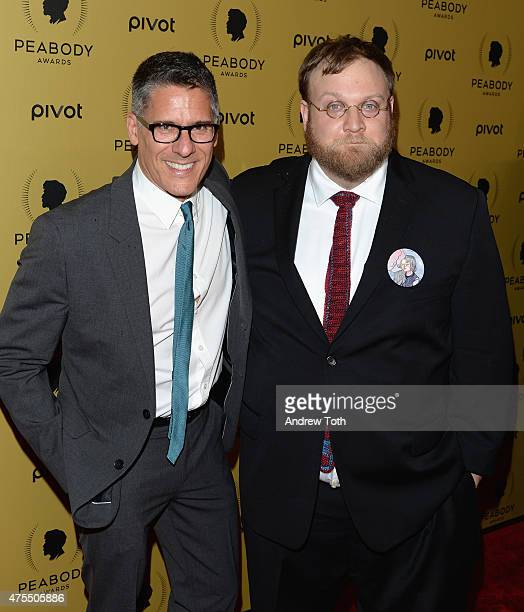 Rob Sorcher and Pendleton Ward attend The 74th Annual Peabody Awards Ceremony at Cipriani Wall Street on May 31 2015 in New York City
