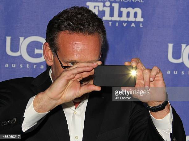 Rob Steinberg attends the presentation of the Outstanding Director Award at the 29th Santa Barbara International Film Festival held at at Arlington...