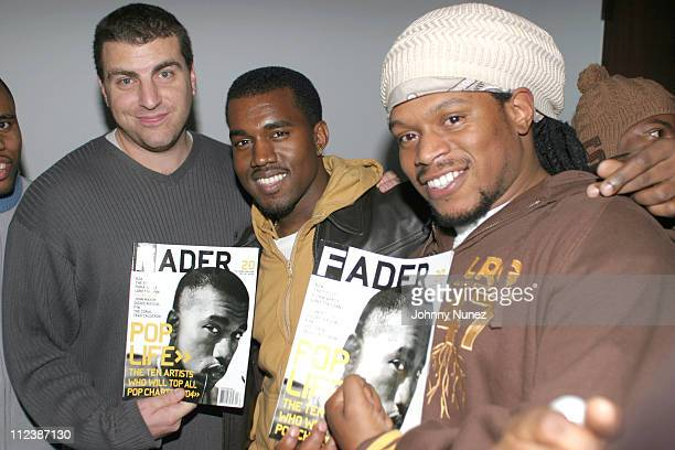 Rob Stone of Cornerstone Kanye West and Sway of MTV