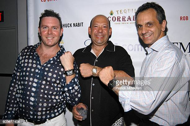 Rob Stricker Chuck Nabit and Ali Soltani attend Miss Universe Post Pageant VIP Party hosted by Chuck Nabit Dave Geller Ed St John Greg Barnhill...