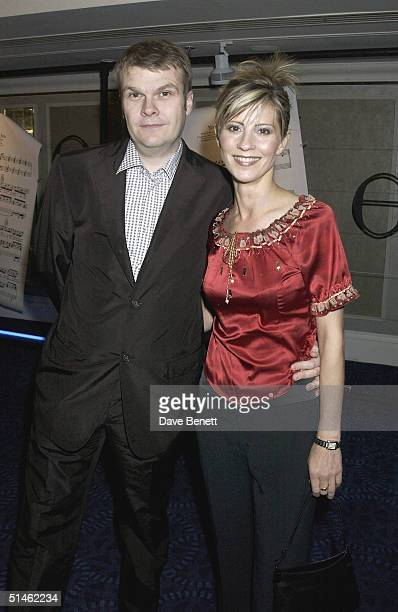 Rob Stringer and Julia Carling attend the Nordoff Robbins Music Therapy Charity Dinner at The Grosvenor House Hotel on November 5 2002 in London