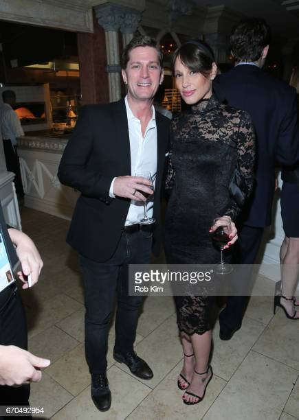 Rob Thomas and Marisol Maldonado attend the 2017 Tribeca Film Festival Opening Night Party at Tavern On The Green on April 19 2017 in New York City