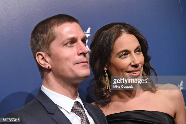 Rob Thomas and Marisol Thomas attend the 2017 Humane Society of the United States to the Rescue New York Gala at Cipriani 42nd Street on November 10...