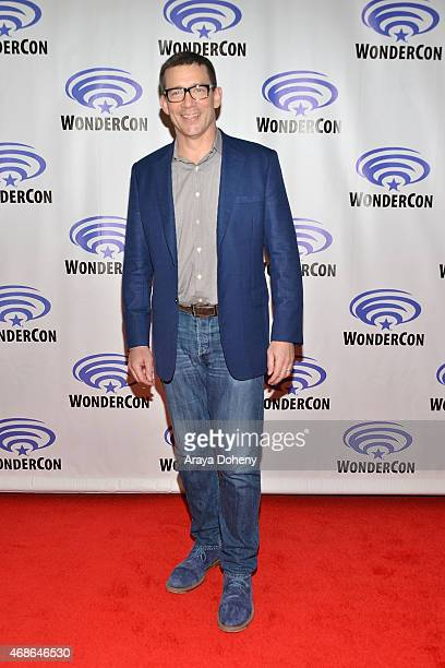 Rob Thomas attends 'iZombie' Cast and Filmmakers press line at Anaheim Convention Center on April 4 2015 in Anaheim California