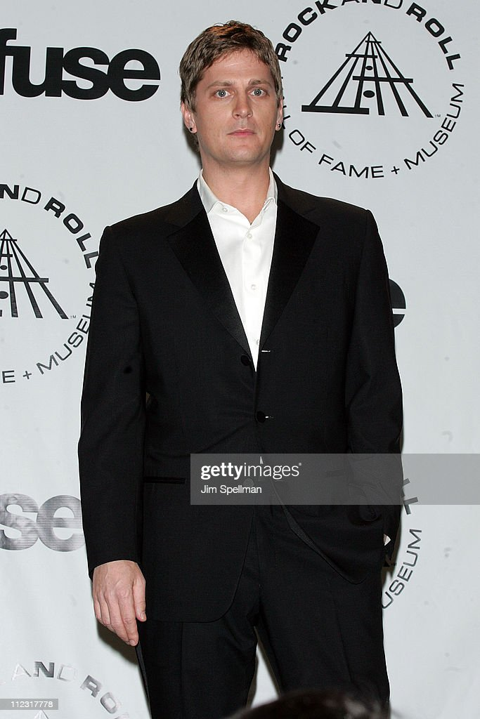 Rob Thomas attends the 25th Annual Rock and Roll Hall of Fame Induction Ceremony at Waldorf=Astoria on March 15, 2010 in New York, New York.