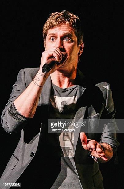 Rob Thomas of Matchbox Twenty performs at Nikon at Jones Beach Theater on August 17 2013 in Wantagh New York