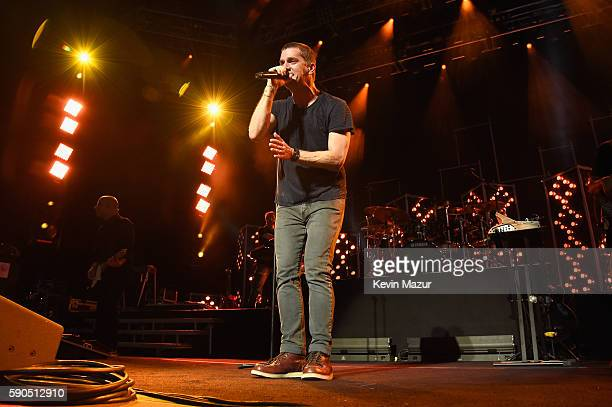 Rob Thomas peform at Amphitheater at Coney Island Boardwalk on August 16 2016 in New York City