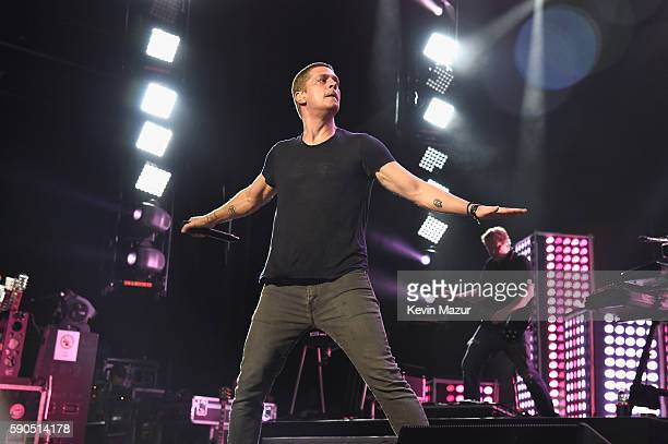 Rob Thomas peforms at Amphitheater at Coney Island Boardwalk on August 16 2016 in New York City