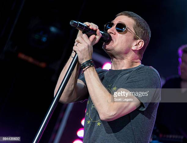 Rob Thomas performs at DTE Energy Music Theatre on August 23 2016 in Clarkston Michigan
