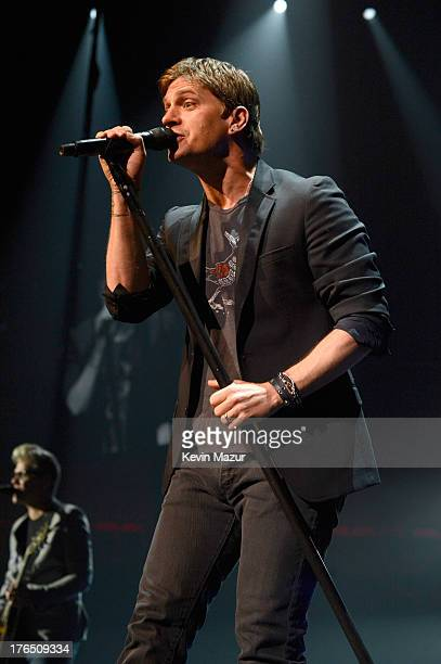 Rob Thomas performs at Mohegan Sun Arena on August 13 2013 in Uncasville Connecticut