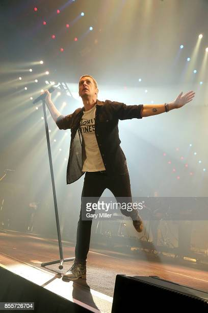 Rob Thomas performs in concert with Matchbox Twenty at HEB Center on September 29 2017 in Cedar Park Texas
