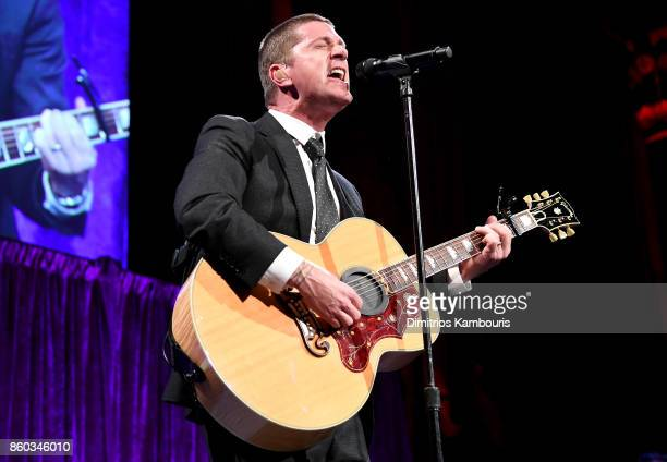 Rob Thomas performs onstage at the Global Lyme Alliance third annual New York City Gala on October 11 2017 in New York City