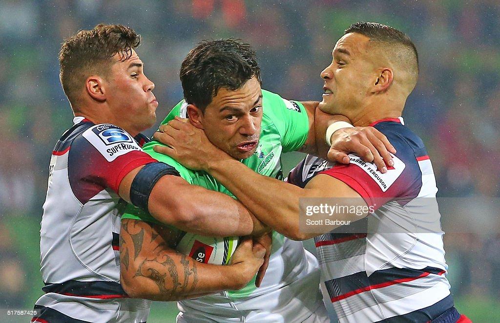 Super Rugby Rd 5 - Rebels v Highlanders