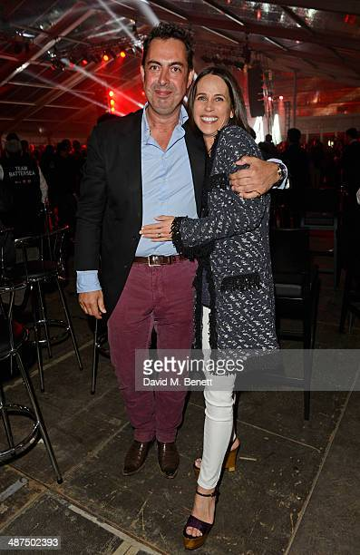 Rob Tincknell Chief Executive Officer of Battersea Power Station Development Company and wife Rachel Tincknell attend the Battersea Power Station...