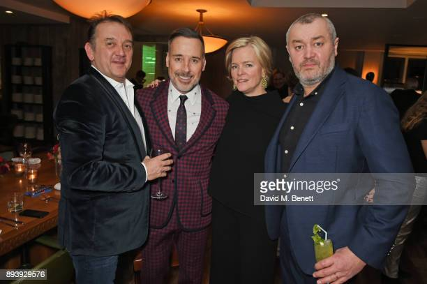 Rob van Helden David Furnish Ruth Kennedy Lady Dundas and Sebastien Barbereau attend Alexander Dundas's 18th birthday party hosted by Lord and Lady...
