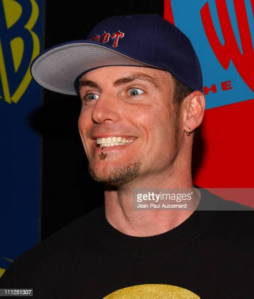 Rob Van Winkle aka Vanilla Ice during The WB Network's 2004 All Star Party at Hollywood Highland in Hollywood California United States