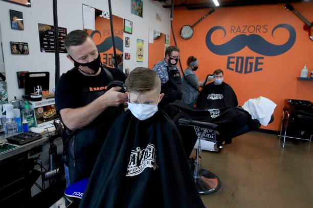 KY: Hair Salon Reopens In Suburb Of Louisville, Kentucky