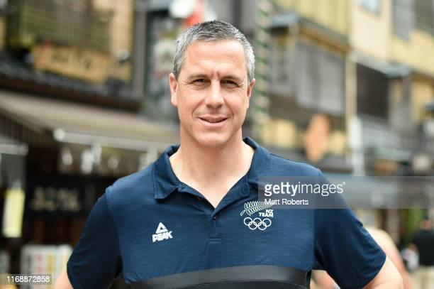 Rob Waddell poses during a portait session in Asakusa area on August 19 2019 in Tokyo Japan