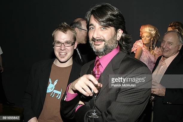 Rob Weber and Robert Oronzio attend Rootstein MAO PR and Jade Parfitt's Drama Divas at Rootstein Studio on May 16 2005 in New York City