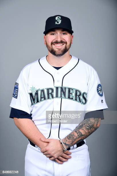Rob Whalen of the Seattle Mariners poses during Photo Day on Monday February 20 2017 at Peoria Sports Complex in Peoria Arizona