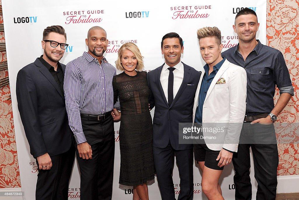 "Logo TV Premiere Party For ""Secret Guide To Fabulous"" With Kelly Ripa & Mark Consuelos - Reception"