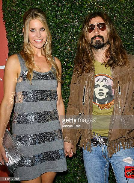 Rob Zombie and Sheri Moon Zombie arrive at the 2007 Spike TV Scream Awards at The Greek Theater on October 19 2007 in Los Angeles California