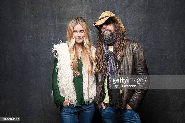 Rob Zombie and Sheri Moon Zombie for the film '31' pose for a portrait at the 2016 Sundance Film Festival on January 24 2016 in Park City Utah CREDIT...