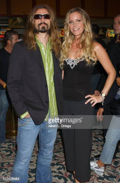 Rob Zombie and wife Sheri Moon during 36th Annual Comic Con International The Devil's Rejects Premiere Inside at Pacific's Gaslamp 15 Theater in San...