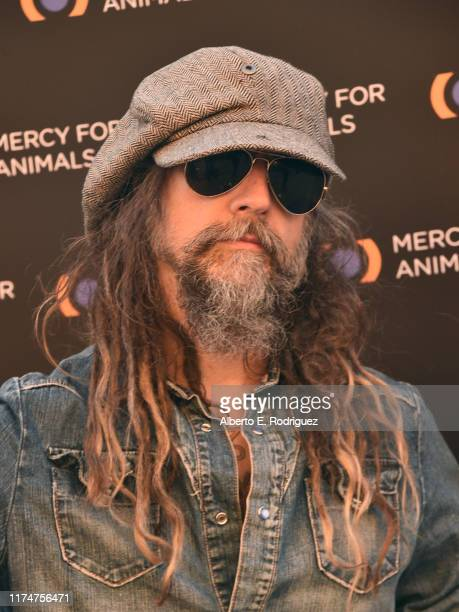 Rob Zombie attends the Mercy For Animals 20th Anniversary Gala at The Shrine Auditorium on September 14 2019 in Los Angeles California