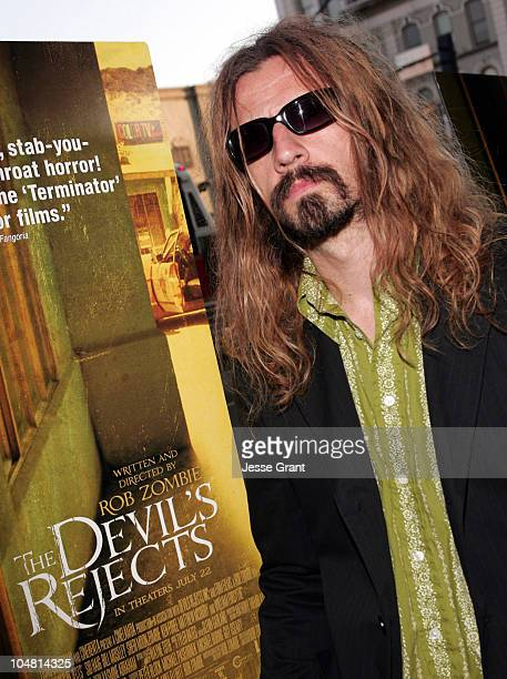 Rob Zombie during 36th Annual ComicCon International 'The Devil's Rejects' Premiere at Pacific's Gaslamp 15 Theater in San Diego California United...