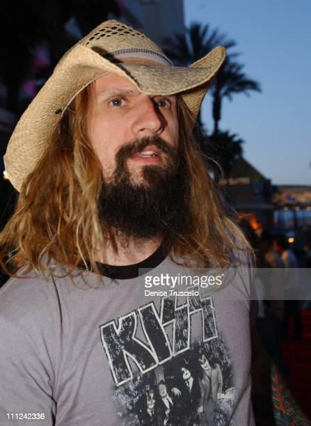 Rob Zombie during Hard Rock Hotel and Casino 10th Anniversary Weekend Bon Jovi in Concert Red Carpet Arrivals at The Hard Rock Hotel and Casino...