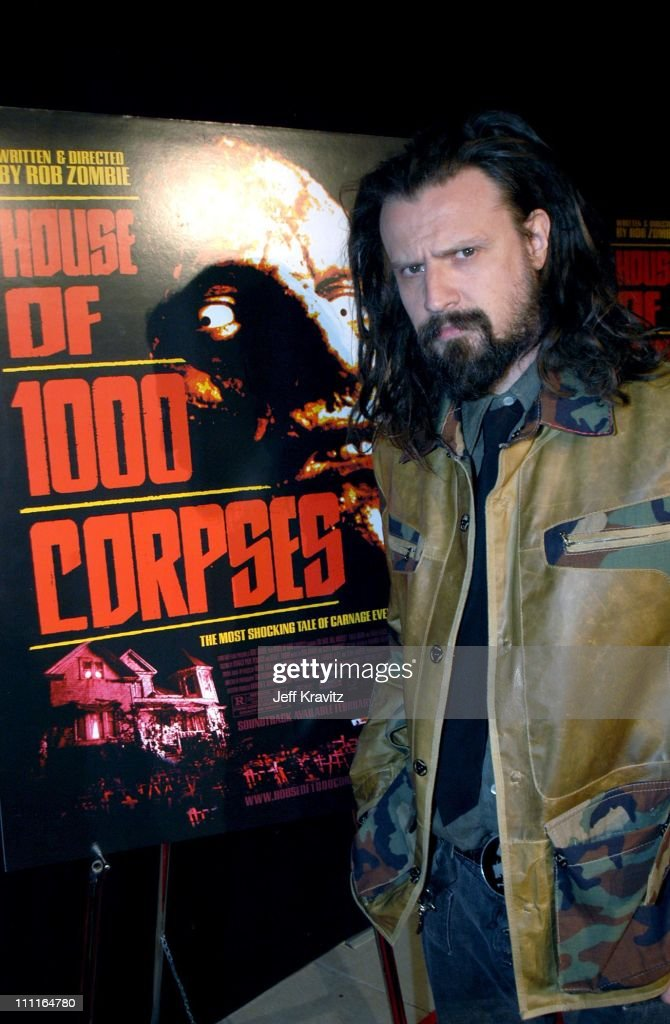 Rob Zombie during LionsGate Films' 'House of 1000 Corpses' Premiere at ArcLight Cinemas in Hollywood, CA, United States.