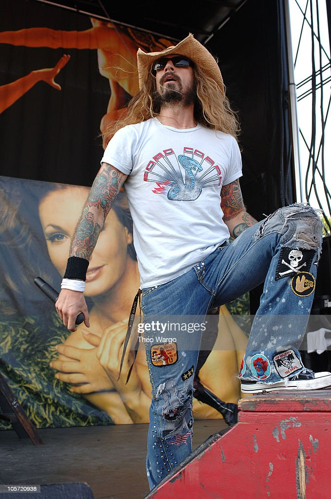 Rob Zombie during OZZFEST 2005 at the PNC Arts Center in