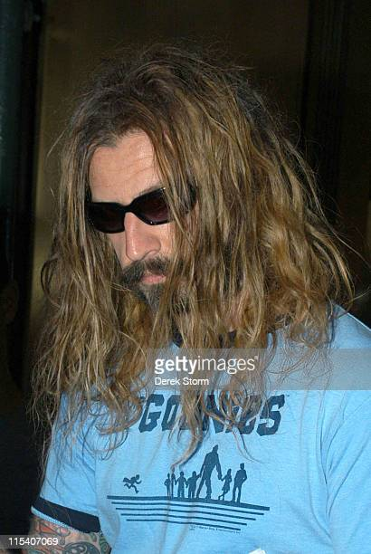 Rob Zombie during Rob Zombie Appears on WB11 Morning News July 20 2005 at WB11 in New York City New York United States