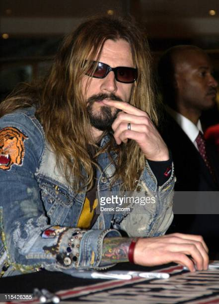 Rob Zombie during Rob Zombie InStore Appearance and Album Signing at Virgin Megastore in New York March 28 2006 at Virgin Megastore Times Square in...