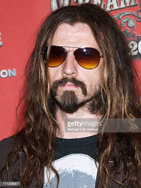 Rob Zombie during Spike TV's 'Scream Awards 2006' Arrivals at Pantages Theater in Hollywood California United States
