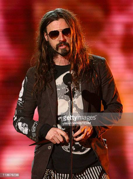 Rob Zombie during Spike TV's Scream Awards 2006 Show at Pantages Theater in Hollywood California United States