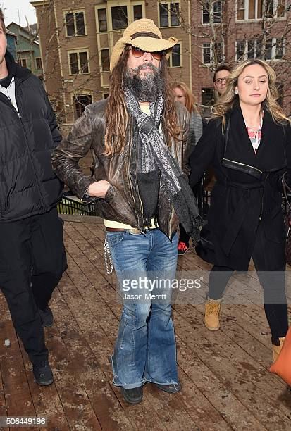Rob Zombie is seen at the Sundance Film Festival on January 23 2016 in Park City Utah